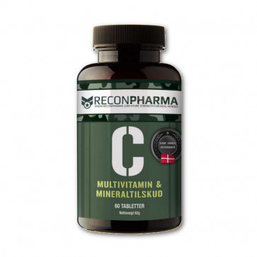 C vitamin i multimineral tablet.