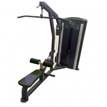 God pulldown lat maskine kombineret med rohåndtag