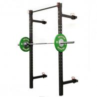 Foldbar squat rack til væggen