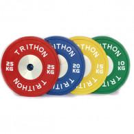 Vægtløfter bumper vægtskiver til vægtløftning