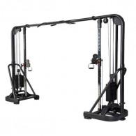 Kabeltræk maskine til fitnesscenteret med 2x93 kg