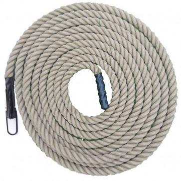 Crossfit battle rope i 50 feet (15 meter) udført i kvalitets Randers Reb.