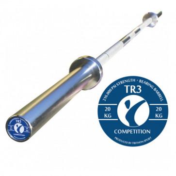 Vægtstang med høj lvalitets nålelejer og 216.000 PSI stål
