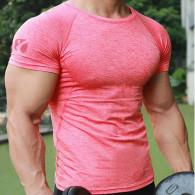 Rød tshirt til træning