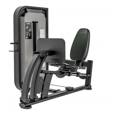 Siddende benpres maskine med 137 kg vægtmagasin