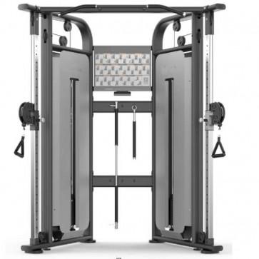 Kompakt kabeltræk perfekt til mindre motionsrum