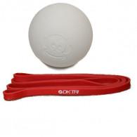 Lacrosse bold og xx light strengtband til skuldertræning