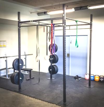 Garage gym postaja za pull up drsna vrtljiva garage gym rig